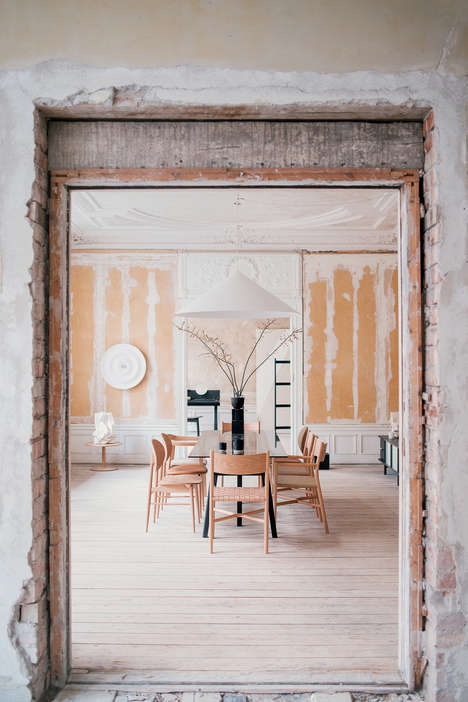 Crumbling Building Furniture Exhibitions - Ariake Unvieled a New Line During Stockholm Design Week