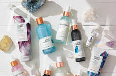 Crystal-Inspired Body Care Collections - Bath & Body Works' New Products Reference Healing Crystals