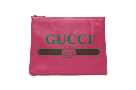 Vintage Logo Pouch Bags