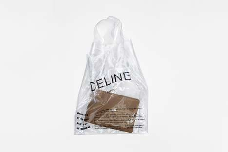 Designer Plastic Shopping Bags - Céline's Plastic Shopping Bag & More Will Be Available at Nordstrom