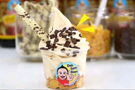 Savory Sauce Ice Creams