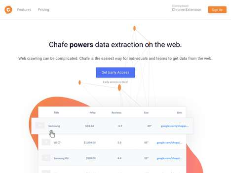 Online Data Extraction Extensions