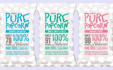 Balanced Low-Calorie Popcorns