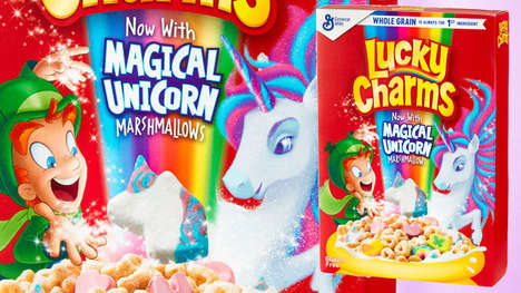 Mythical Marshmallow Cereals