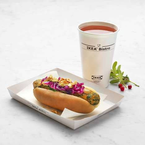 Plant-Based Hot Dogs - IKEA Food is Testing a Veggie Hot Dog at Its Store in Sweden