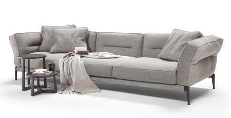 Crease-Detailed Sofas