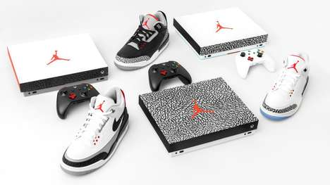 Sneaker-Inspired Game Consoles