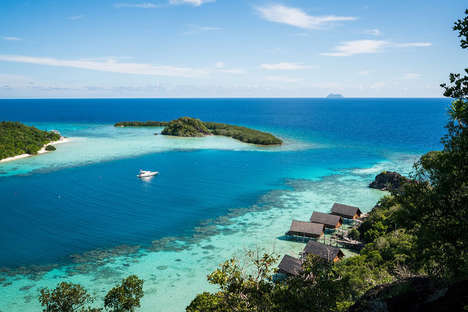 Luxurious Remote Island Resorts - The Bawah Island Resort is a Private Hotel Near Southern Malaysia