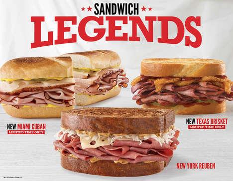 Legendary Sandwich Trios