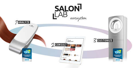 Data-Driven Salon Systems - The Schwarzkopf Professional SalonLab Introduces Customized Haircare
