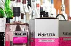 Ready-to-Pour Gin Boxes - 'Pinkster on Tap' Introduces Sustainable Bag-in-Box Packaging for Spirits