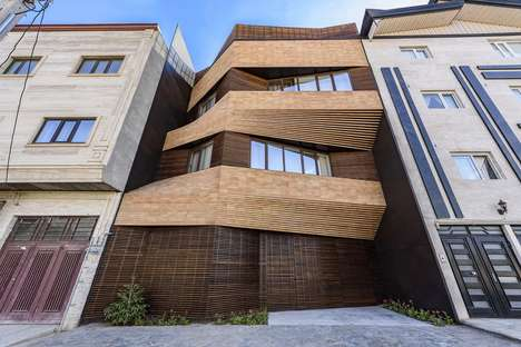 Fanned Building Facades