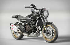 Heritage-Inspired Motorcycles - Velomacchi and Yamaha Created the New Rural Racer Project
