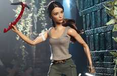 Action Movie Barbie Dolls