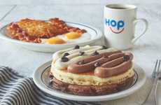 Formal Outfit-Inspired Breakfast Meals - The IHOP Tuxedo Pancakes Have Vanilla and Chocolate Flavors