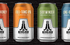 Patriotic Texan Craft Beers - The Revolver Brewing Company Has Introduced Four New Canned Beers