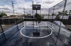 Black Marble Basketball Courts