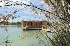 Floating Wooden Eco-Hotels