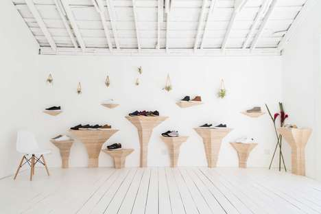 Luxury Minimalist Sneaker Stores