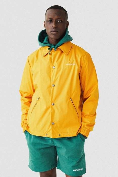 Multicolored Spring Menswear