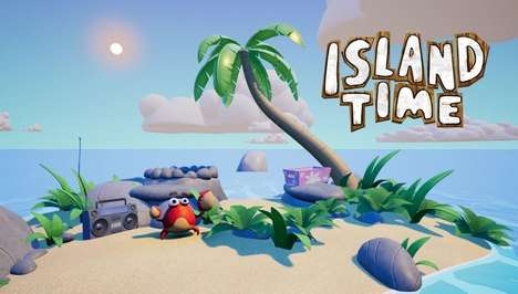 Island Survival Games - 'Island Time VR' Challenges Players to Stay Alive After a Shipwreck
