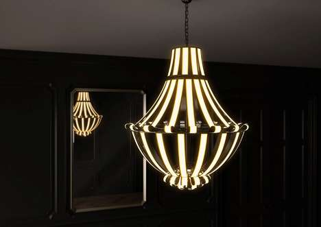 Antiquated Aesthetic OLED Chandeliers