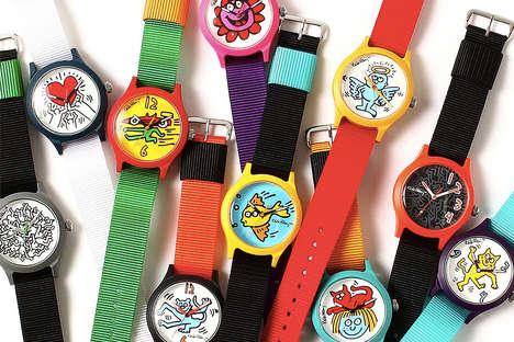 Artist-Honoring Watch Capsules
