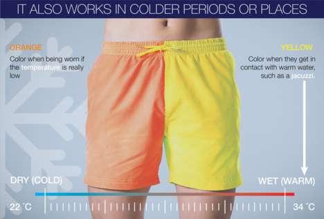 Color-Changing Swim Shorts