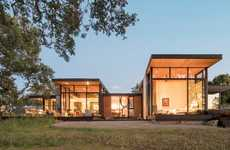 Wood-Dependent Californian Homes - This House by Field Architecture is Informed by the Landscape