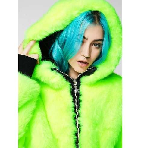 Neon Club Kid Outerwear