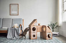 Recyclable Feline Jungle Gyms