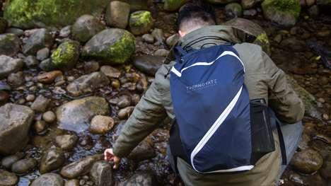 Practical One-Zip Backpacks