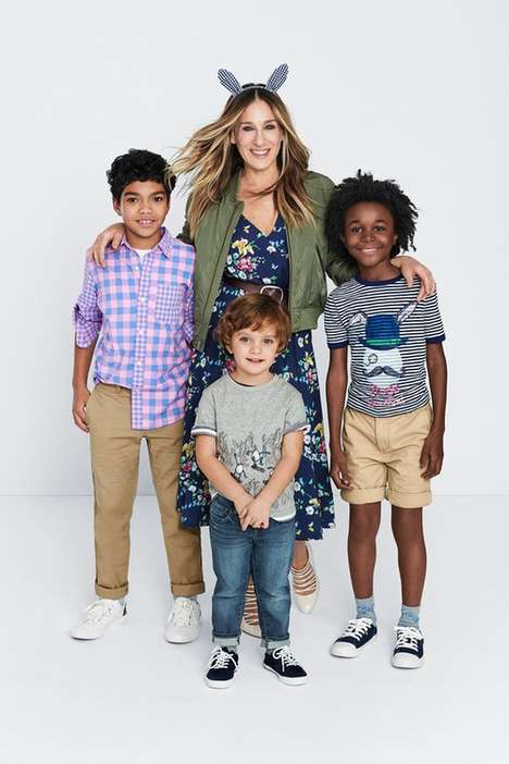 Celebrity-Designed Children's Clothes - Sarah Jessica Parker Created a New Gap Kids Clothing Line