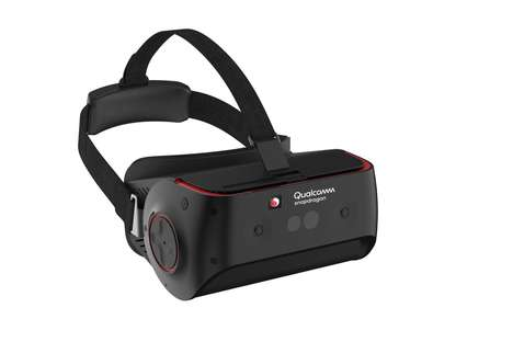 Eye-Tracking Multimedia Headsets - The Qualcomm Snapdragon 845 Headset Offers AR and VR Capabilities