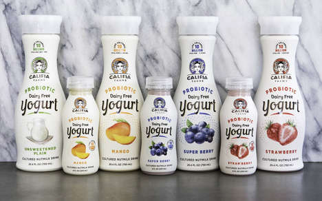 Dairy-Free Probiotic Yogurts