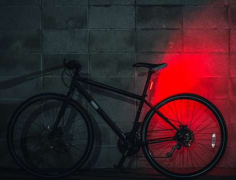 Motion-Sensing Bike Lights