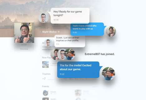 Social Video Game Profiles - 'My PlayStation' Brings the Playstation Network to Browsers