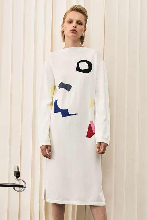 Abstract Art Dresses