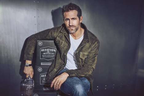 Celebrity Gin Companies - Ryan Reynolds Recently Purchased the Aviation Gin Distillery