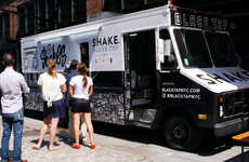 Decadently Designed Milkshakes - Black Tap Milkshakes Can Now Be Found In Trucks Across New York