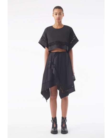 Asymmetric Casual Wear Designs