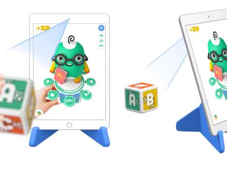 Cubic AR Toys - PleIQ Combines Tangible Cube Toys with Augmented Reality Interactions