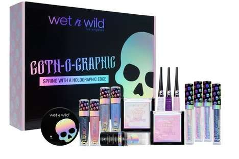 Gothic Holographic Makeup