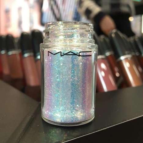 White Iridescent Glitter Pigments