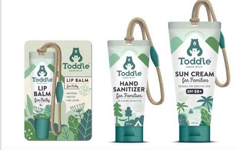 Clasp-Integrated Skincare - Toddle's 'Toddle Toggle' Easily Attaches to Bags and Buggies
