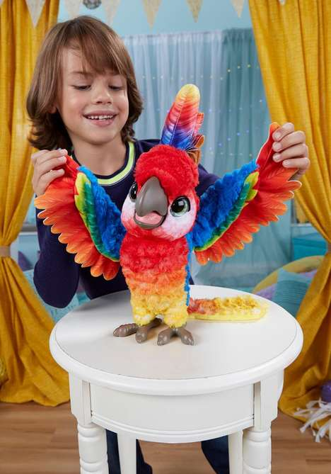 Comical Parrot Toys