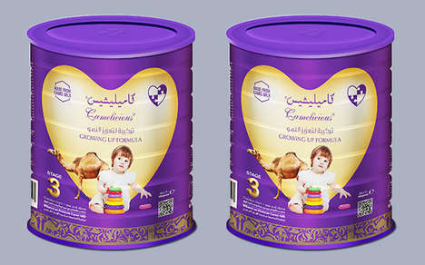 Camel Milk Infant Formulas - The Camelicious Baby Formula is Packed with Iron and More
