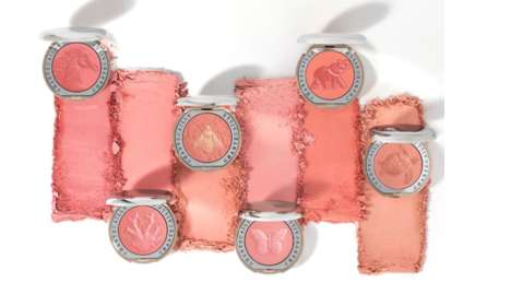 Animal-Embossed Blush Shades - Chantecaille's 20th Anniversary is Celebrated with Artistic Designs
