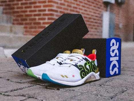 Hip-Hop Motif Collaborative Shoes