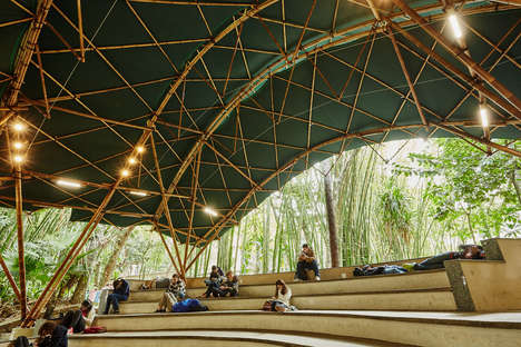 Free-Form Bamboo Amphitheaters